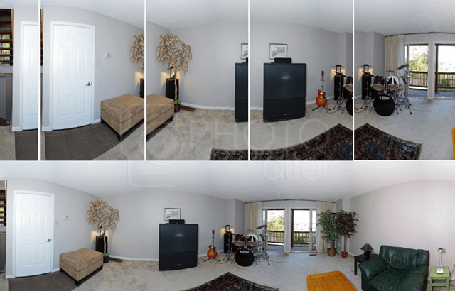 Real Estate Panoramic Image Stitching Services
